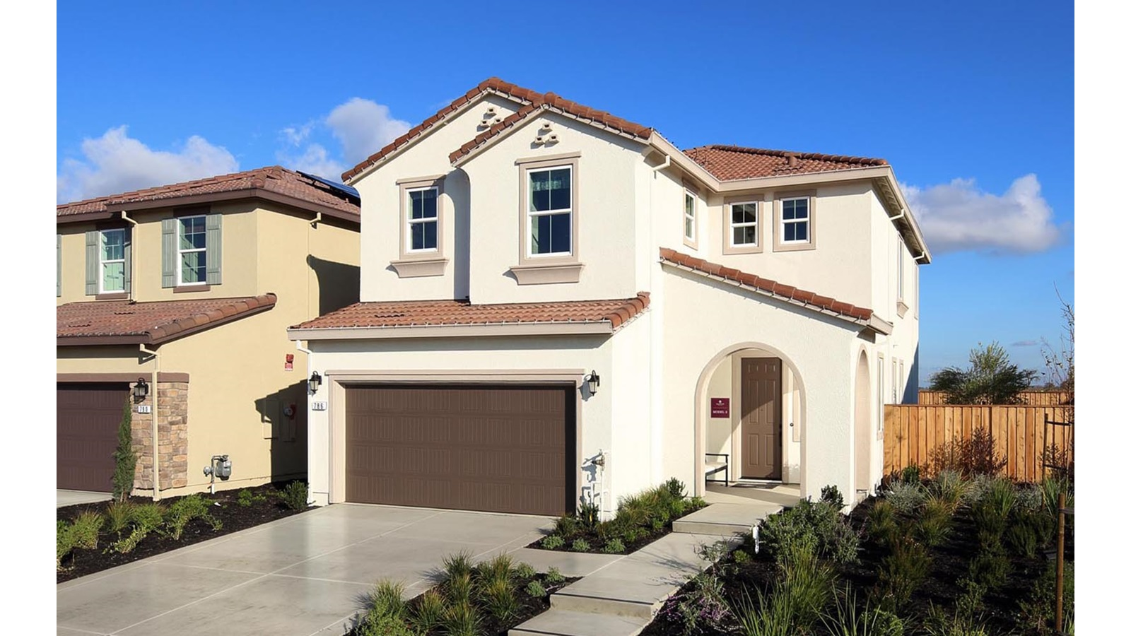 Exterior 2 Easton Delaney Park New homes in Oakley CA Brookfield Residential