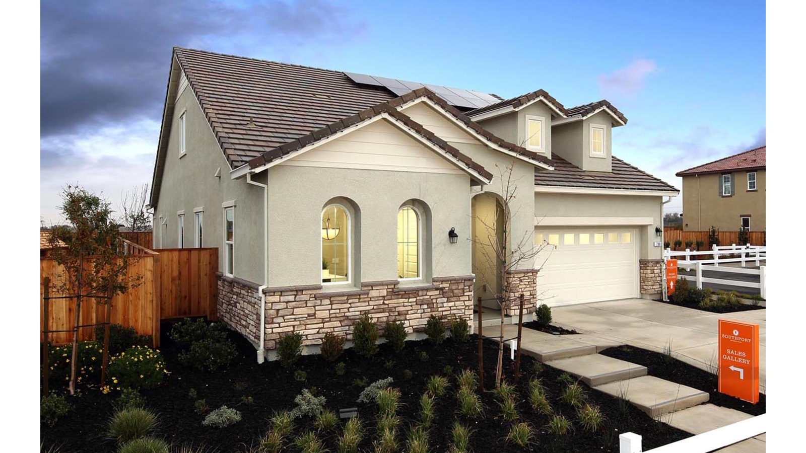 Exterior 3 Southport Delaney Park New homes in Oakley CA Brookfield Residential