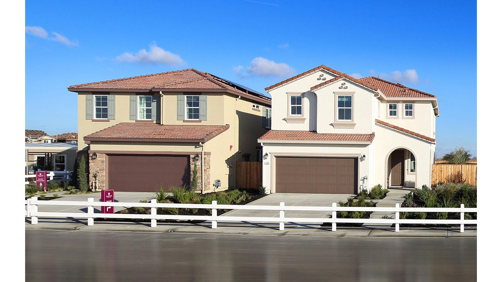 Exterior 4 Easton Delaney Park New homes in Oakley CA Brookfield Residential