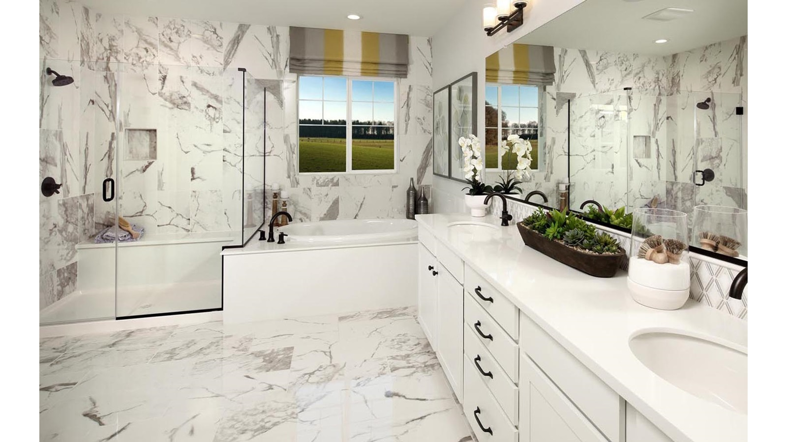 Master Bathroom Residence 4 Southport Delaney Park New homes in Oakley CA Brookfield Residential