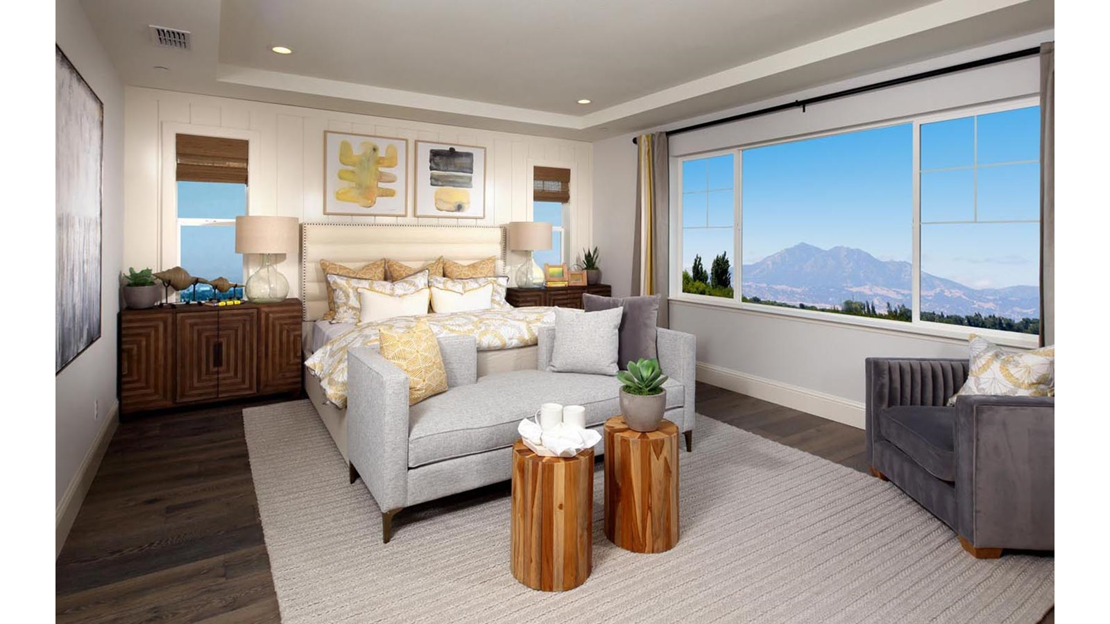 Master Bedroom Residence 4 Southport Delaney Park New homes in Oakley CA Brookfield Residential