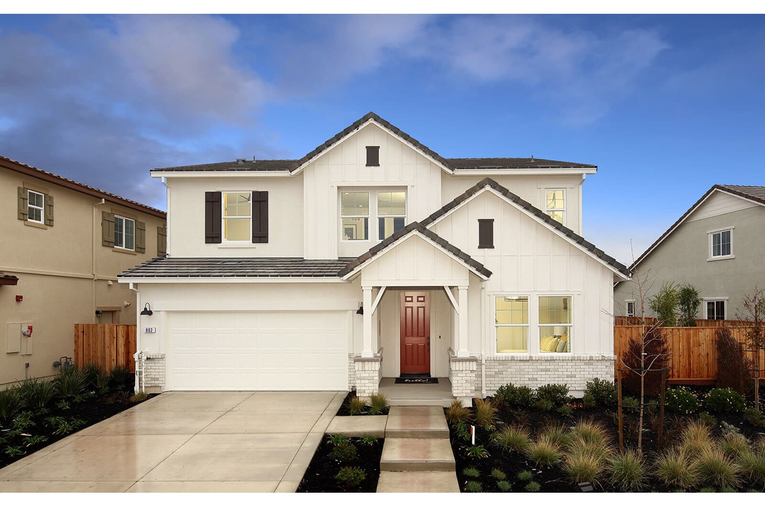 Residence 4 Exterior | Southport | New Homes in Oakley, CA | Brookfield Residential
