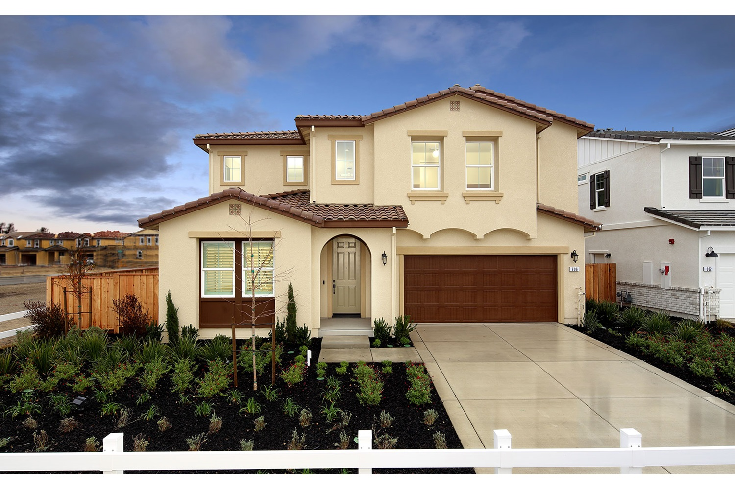 Residence 5 Exterior | Southport | New Homes in Oakley, CA | Brookfield Residential