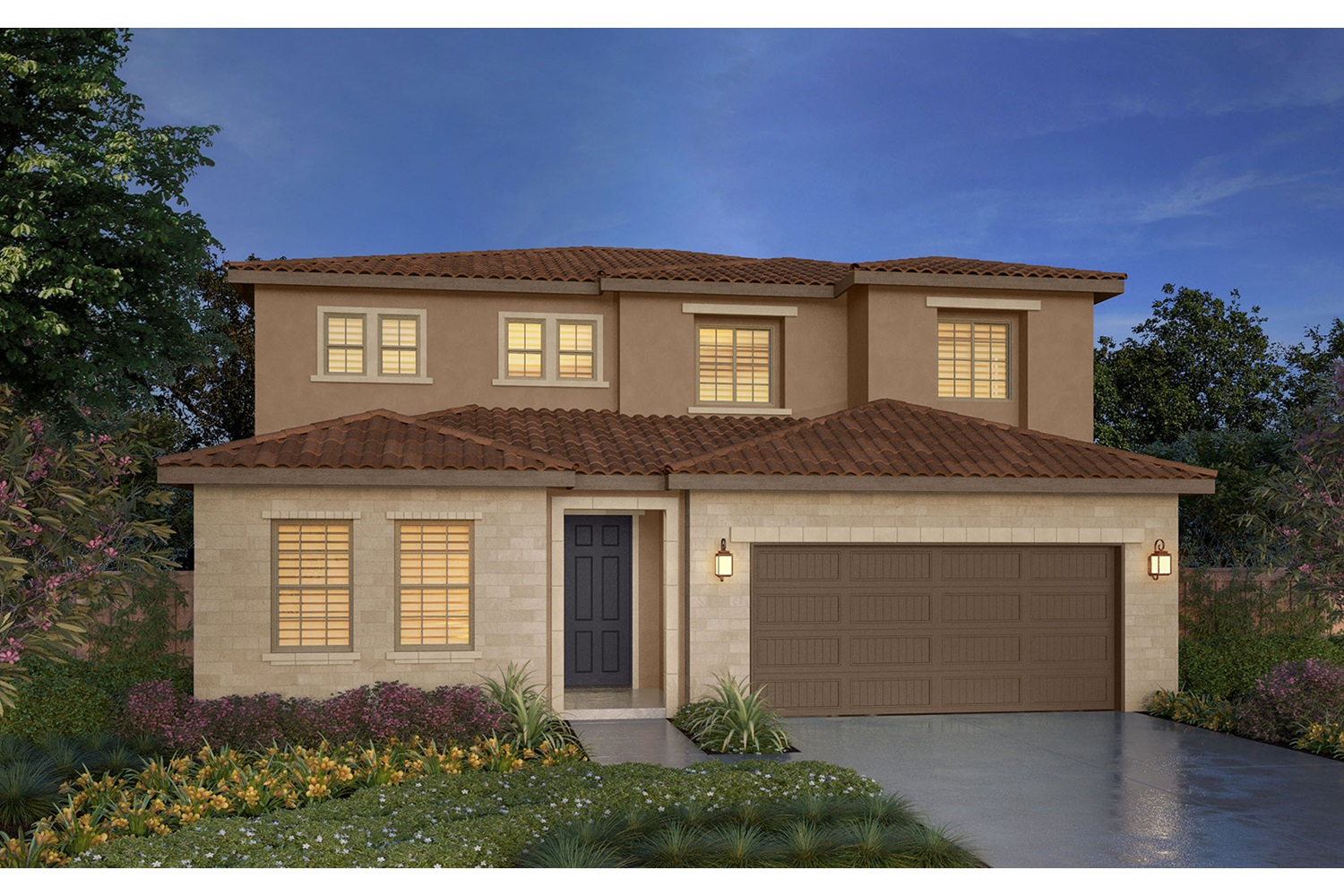 Rendering 3E Southport New Homes in Oakley CA Brookfield Residential