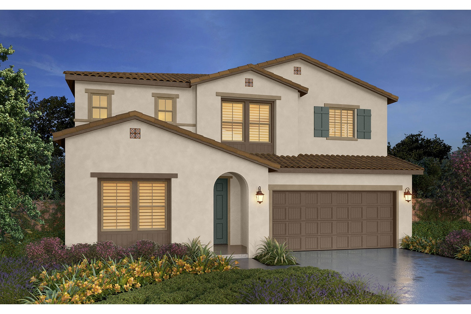 Rendering 4D Southport New Homes in Oakley CA Brookfield Residential