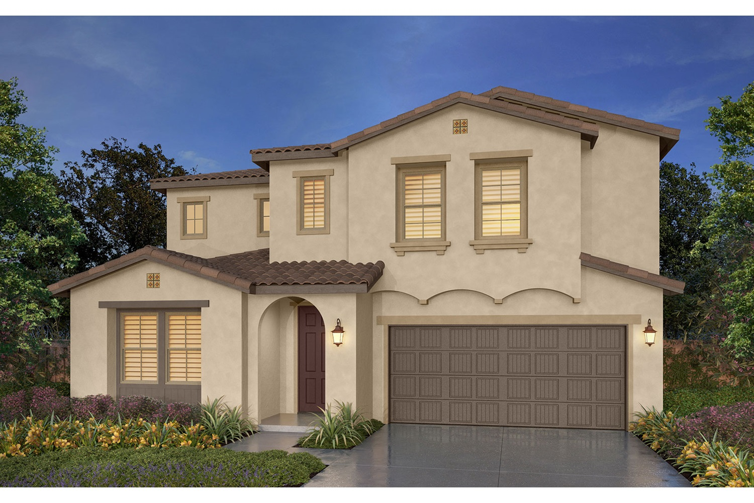 Rendering 5D Southport New Homes in Oakley CA Brookfield Residential