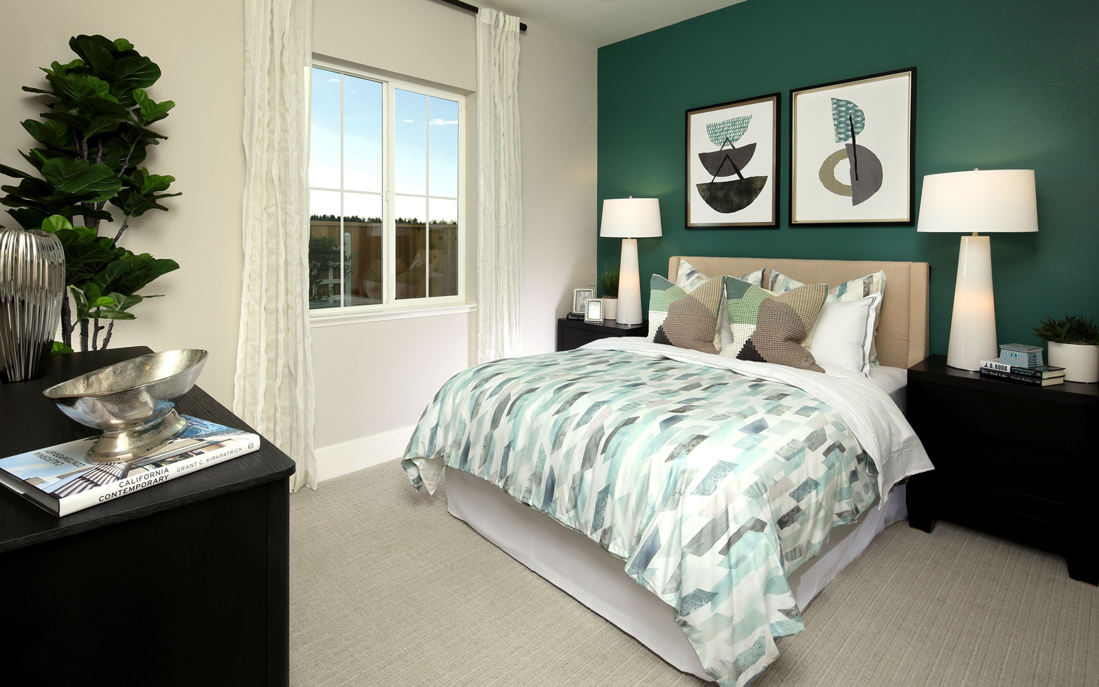 Bedroom 3 | Residence 2 | Southport at Delaney Park in Oakley, CA | Brookfield Residential