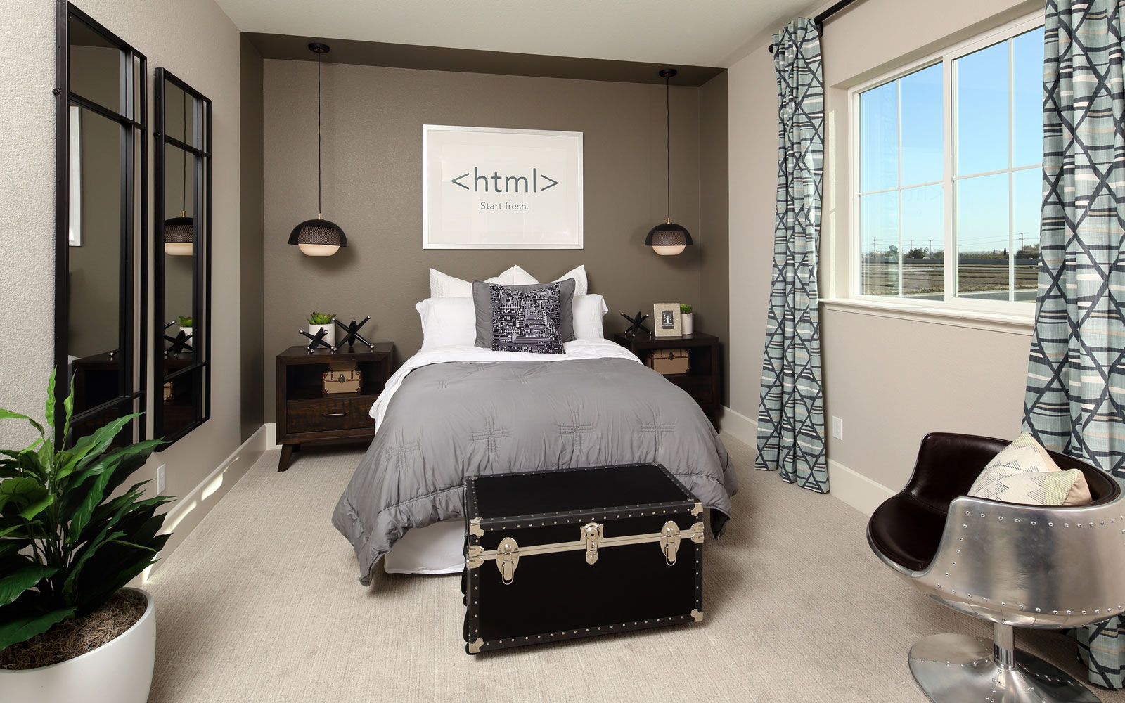 Bedroom 4 | Residence 2 | Southport at Delaney Park in Oakley, CA | Brookfield Residential