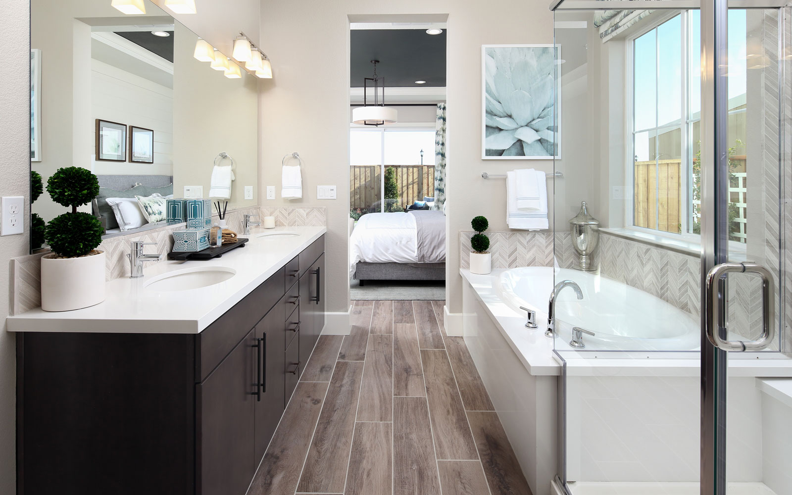 Master Bath | Residence 2 | Southport at Delaney Park in Oakley, CA | Brookfield Residential