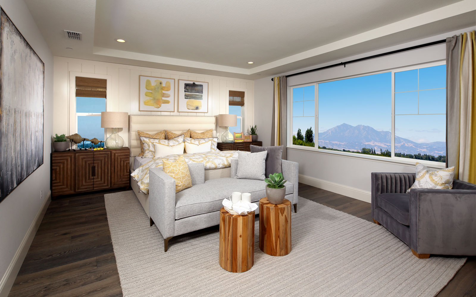 Master Bedroom | Residence 4 | Southport at Delaney Park in Oakley, CA | Brookfield Residential