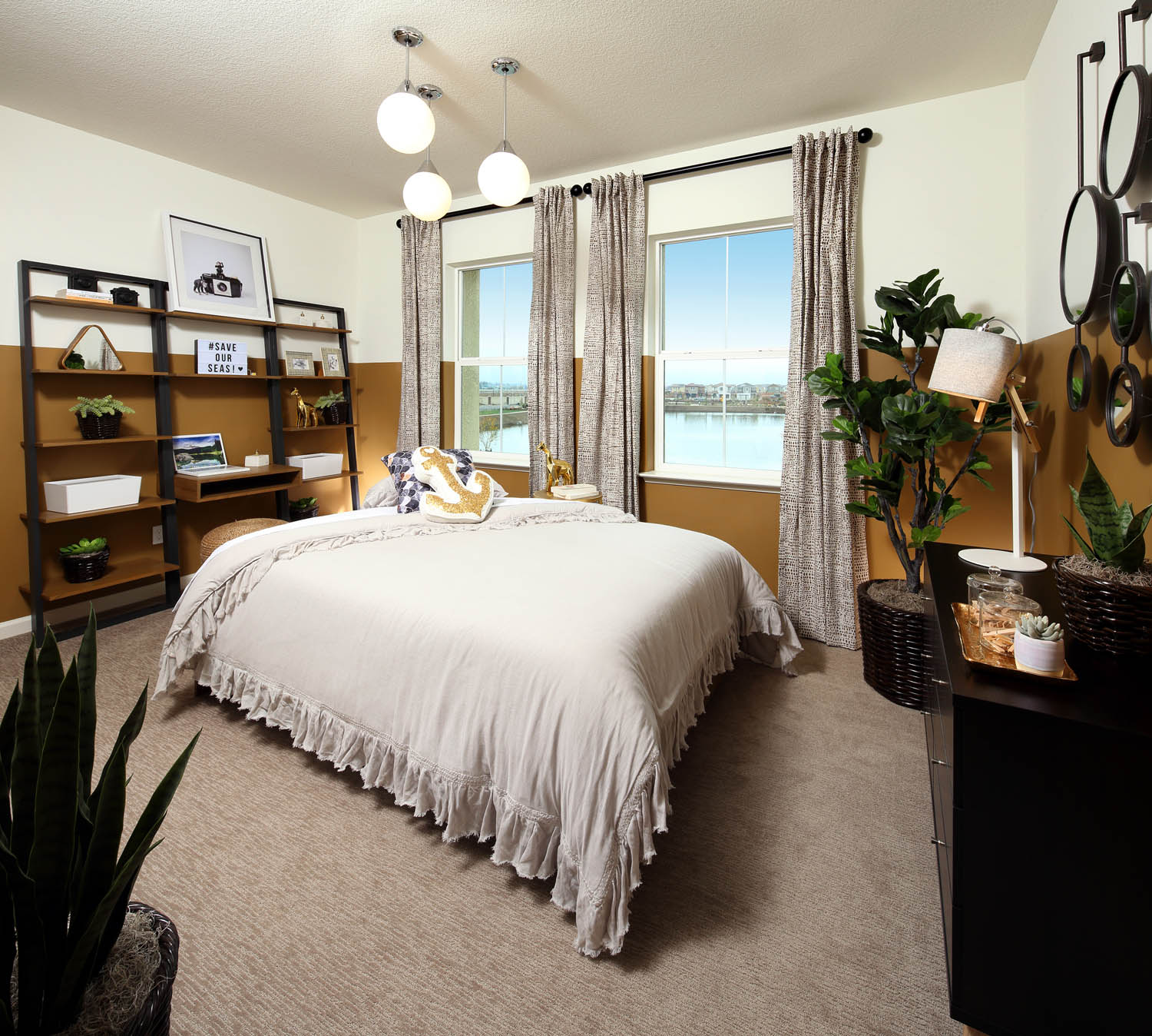 Bedroom 1 | Residence 2 | Southport | New Homes in Oakley, CA | Brookfield Residential