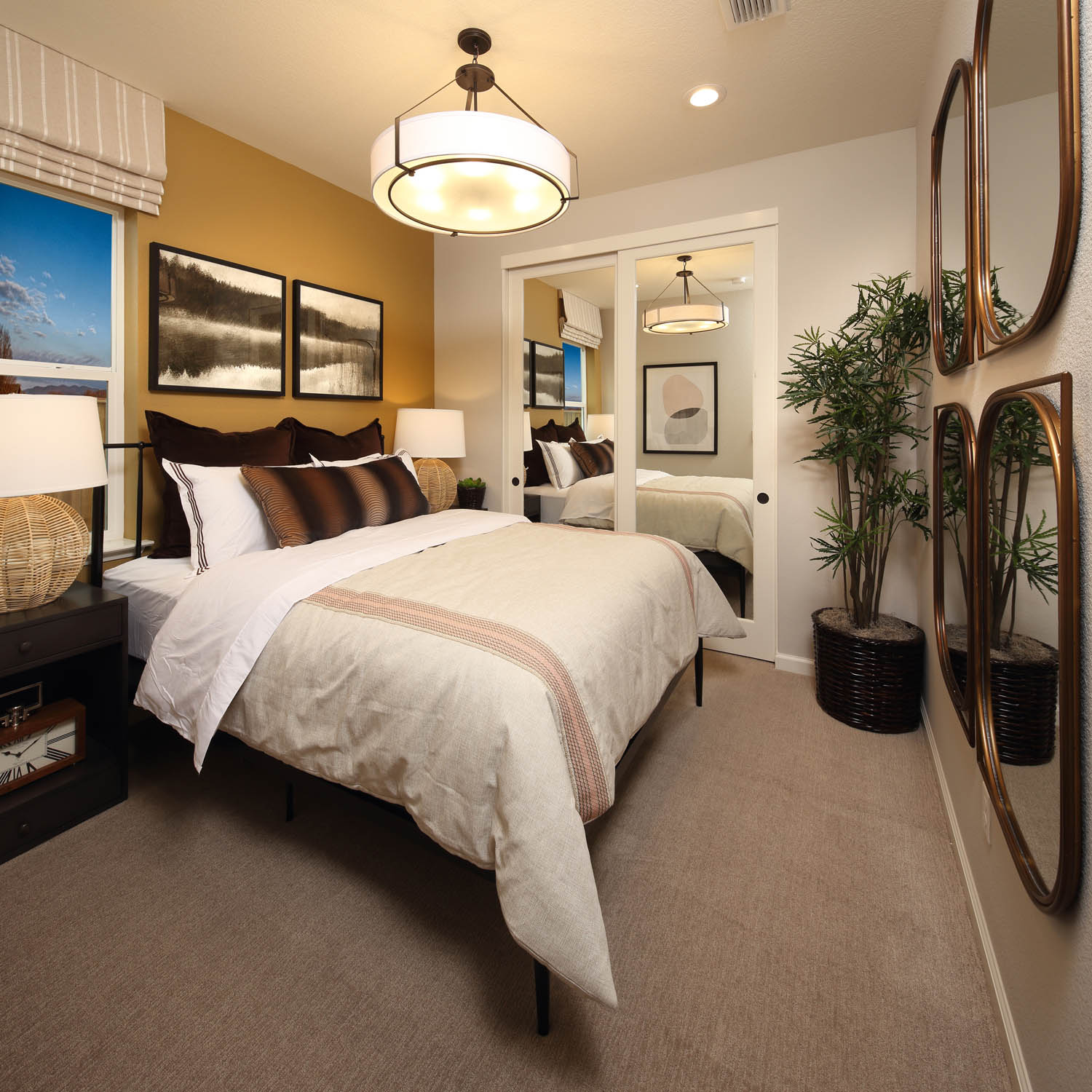Bedroom 2 | Residence 2 | Southport | New Homes in Oakley, CA | Brookfield Residential