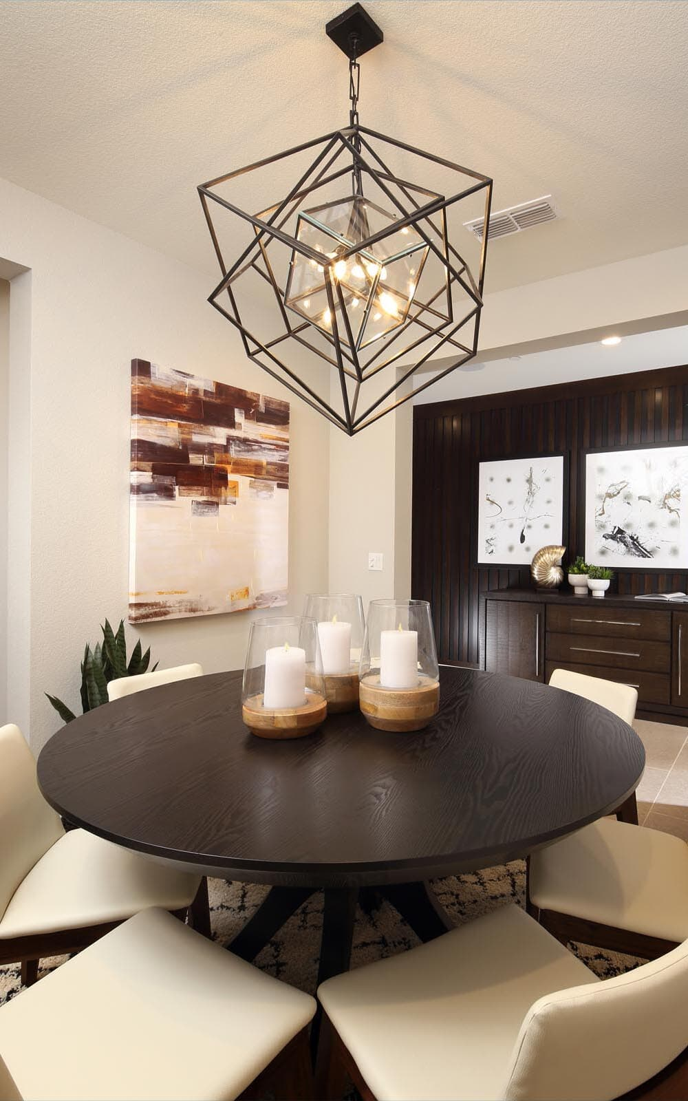 Dining Room Residence 5 Southport New Homes in Oakley CA Brookfield Residential