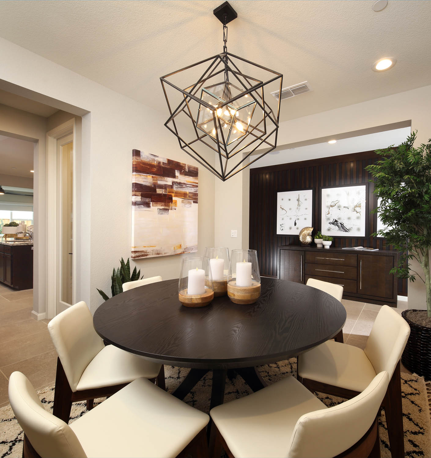 Dining Room | Residence 2 | Southport | New Homes in Oakley, CA | Brookfield Residential
