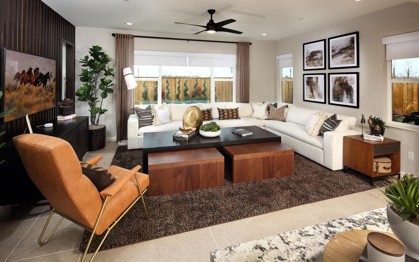 Great Room Residence 5 Southport New Homes in Oakley CA Brookfield Residential