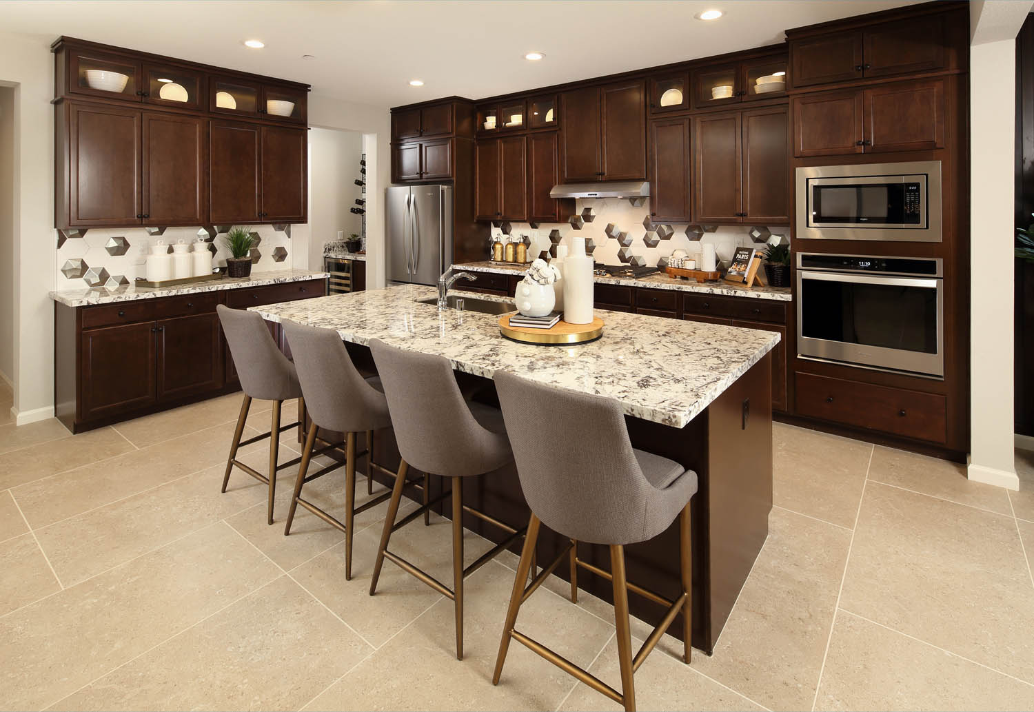 Kitchen | Residence 2 | Southport | New Homes in Oakley, CA | Brookfield Residential