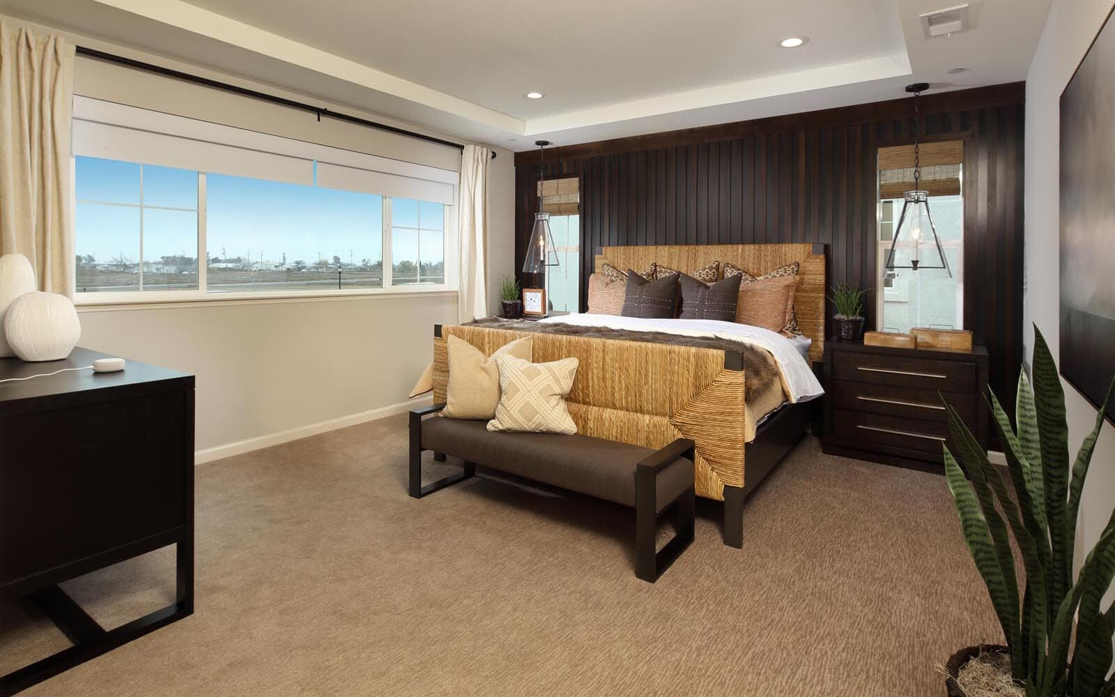 Master Bedroom Residence 5 Southport New Homes in Oakley CA Brookfield Residential