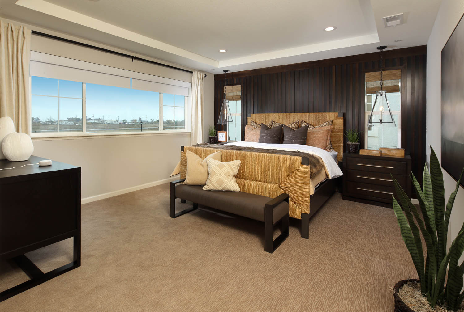 Master Bedroom | Residence 2 | Southport | New Homes in Oakley, CA | Brookfield Residential