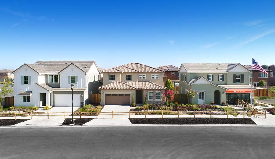 Exterior Residences | Citrus at Emerson Ranch in Oakley, CA | Brookfield Residential