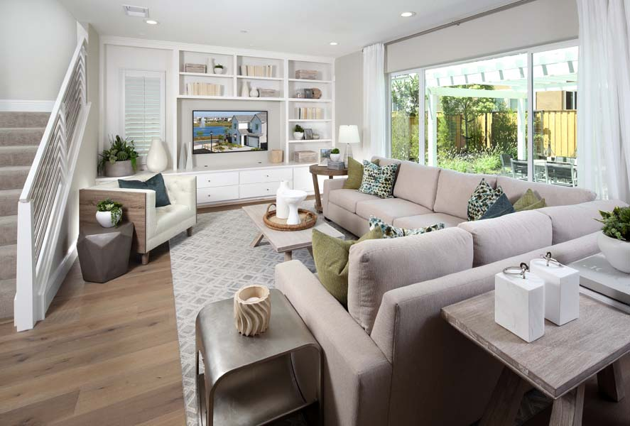 Great Room Residence 1 | Citrus at Emerson Ranch in Oakley, CA | Brookfield Residential