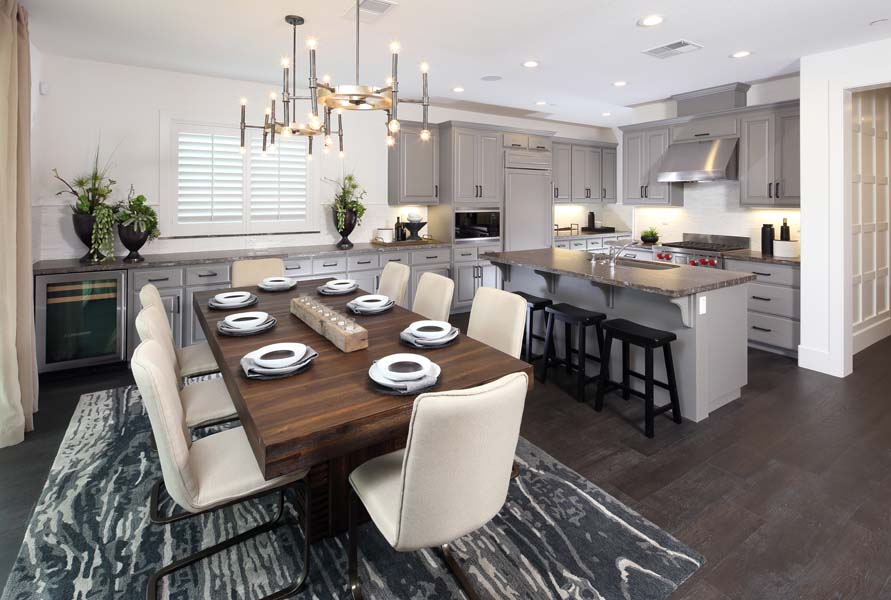 Dining Residence 2 | Citrus at Emerson Ranch in Oakley, CA | Brookfield Residential