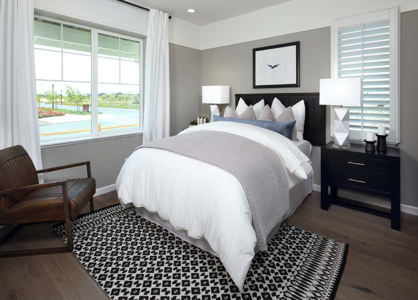 Bedroom 5 Residence 3 | Citrus at Emerson Ranch in Oakley, CA | Brookfield Residential