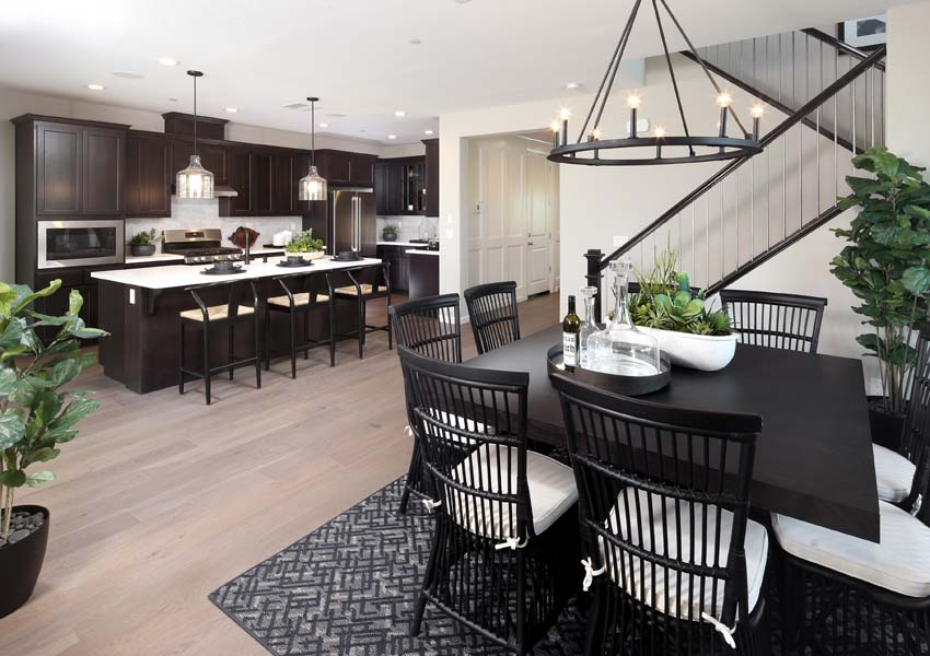 Dining Residence 3 | Citrus at Emerson Ranch in Oakley, CA | Brookfield Residential