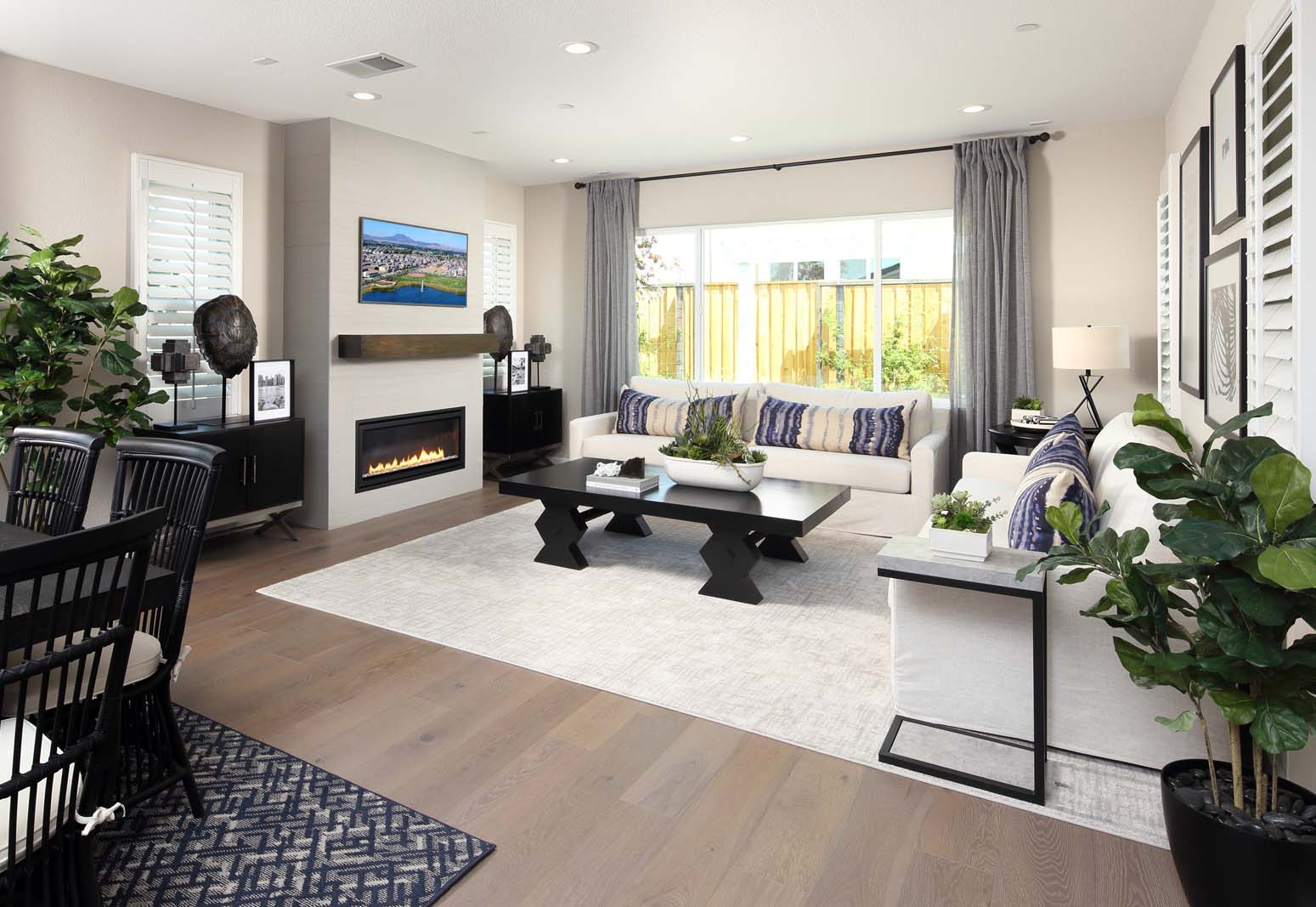 Great Room Residence 3 | Citrus at Emerson Ranch in Oakley, CA | Brookfield Residential