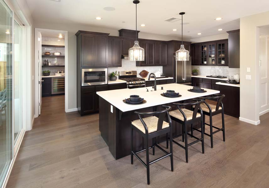 Kitchen Residence 3 | Citrus at Emerson Ranch in Oakley, CA | Brookfield Residential