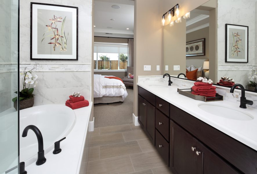 Residence 1 Bathroom | Laurel at Emerson Ranch in Oakley, CA | Brookfield Residential