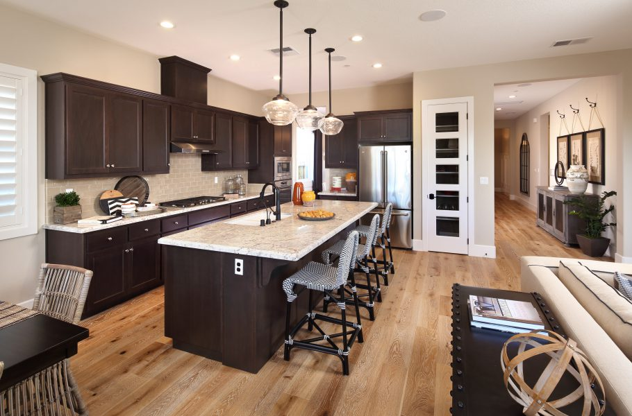 Residence 1 Kitchen | Laurel at Emerson Ranch in Oakley, CA | Brookfield Residential