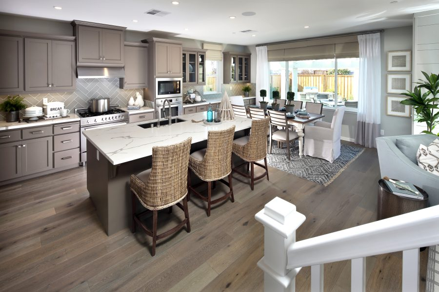 Residence 2 Kitchen | Laurel at Emerson Ranch in Oakley, CA | Brookfield Residential
