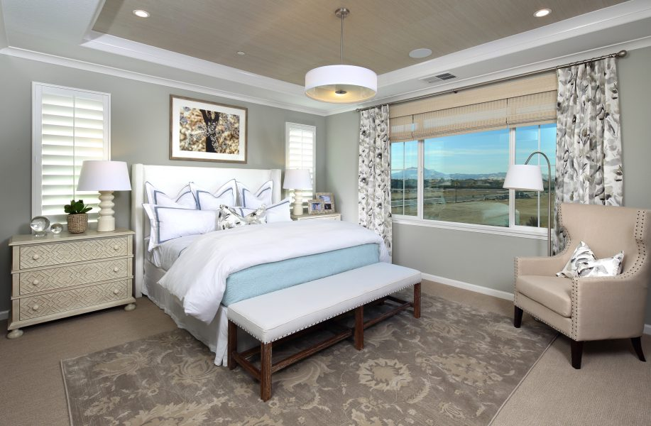 Residence 2 Master Bedroom | Laurel at Emerson Ranch in Oakley, CA | Brookfield Residential