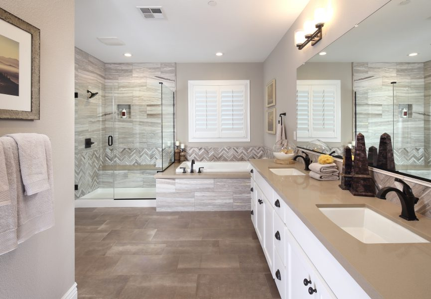 Residence 3 Bathroom | Laurel at Emerson Ranch in Oakley, CA | Brookfield Residential
