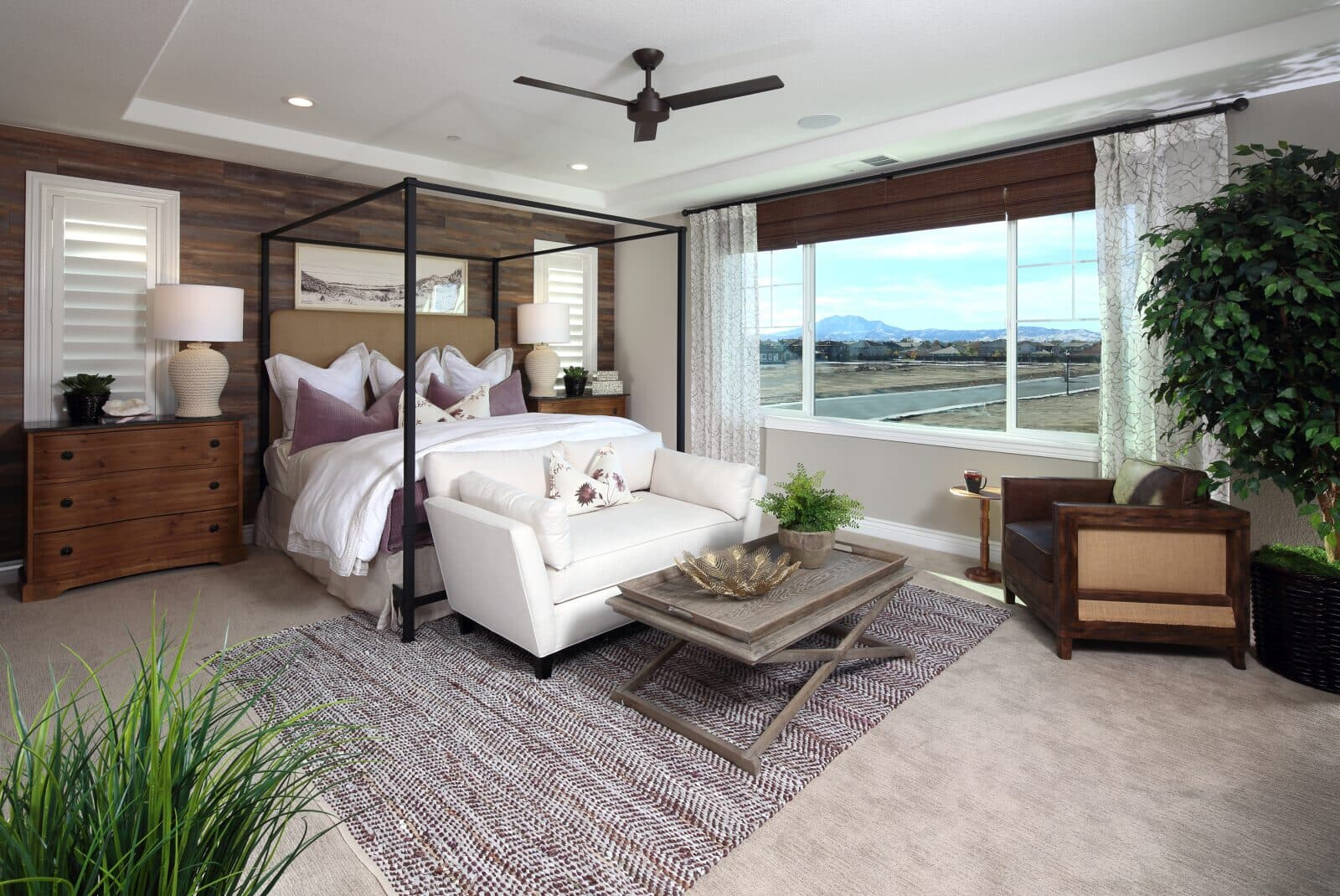 Residence 3 Master Bedroom | Laurel at Emerson Ranch in Oakley, CA | Brookfield Residential