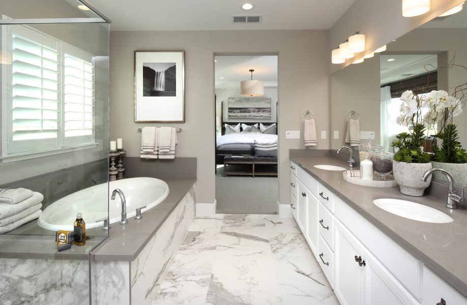 Residence 4 Bathroom | Laurel at Emerson Ranch in Oakley, CA | Brookfield Residential