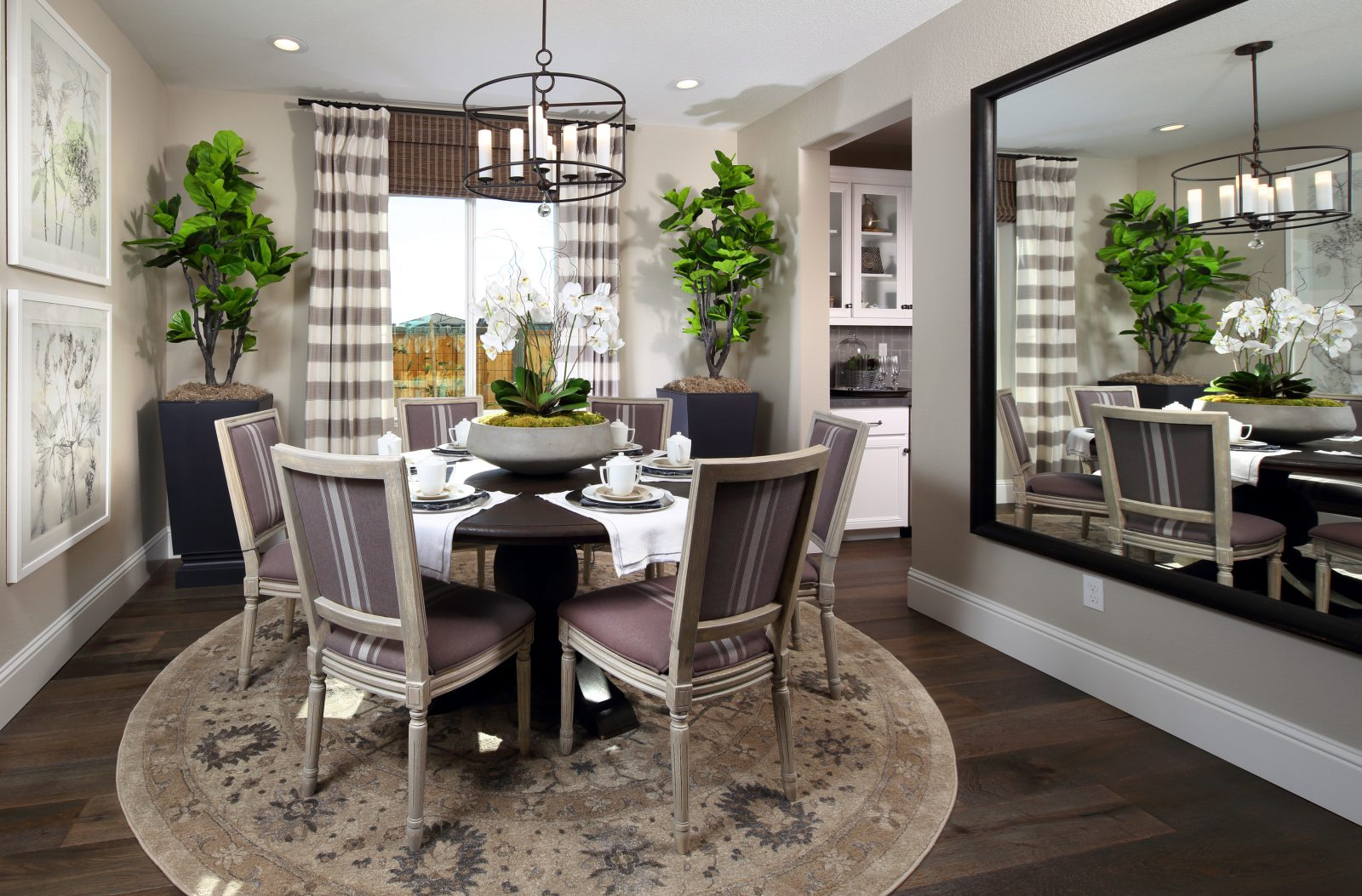 Residence 4 Dining Room | Laurel at Emerson Ranch in Oakley, CA | Brookfield Residential