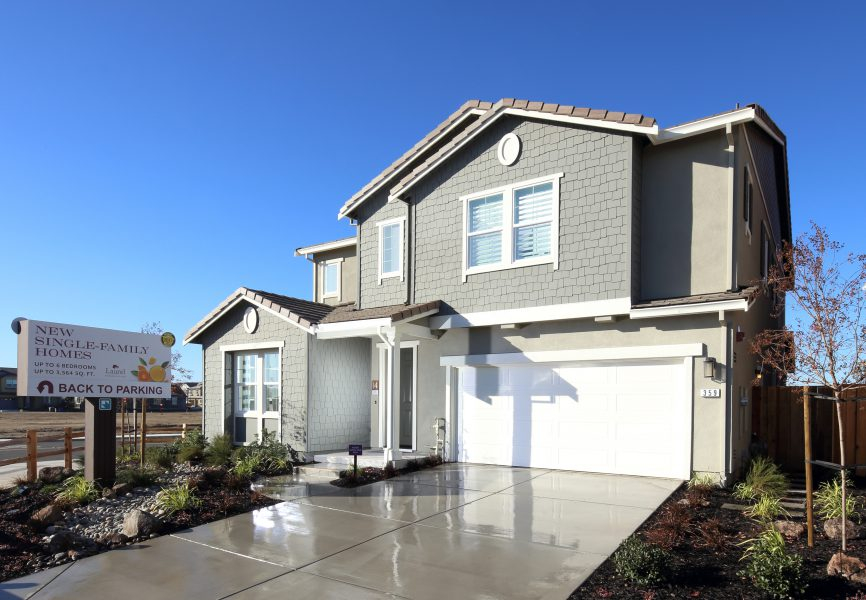 Residence 4 Exterior | Laurel at Emerson Ranch in Oakley, CA | Brookfield Residential