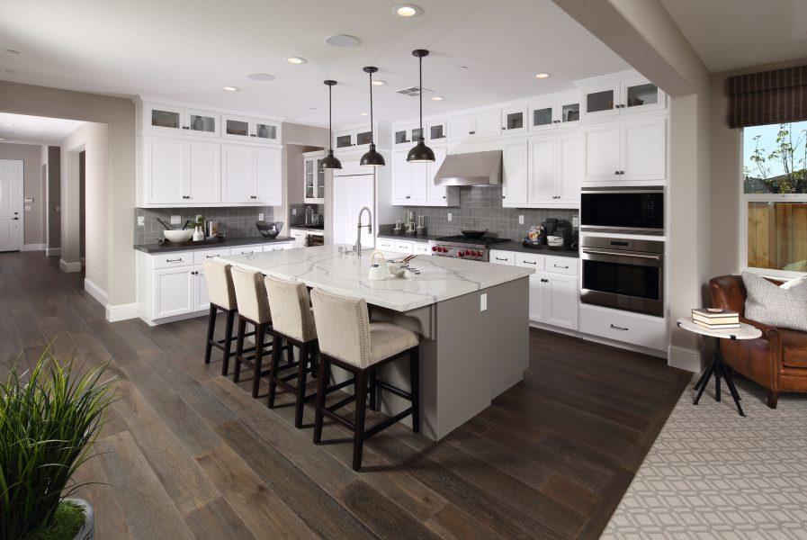 Residence 4 Kitchen | Laurel at Emerson Ranch in Oakley, CA | Brookfield Residential