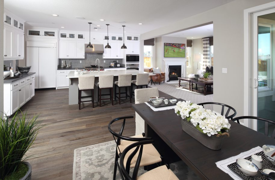 Residence 4 Nook to Kitchen | Laurel at Emerson Ranch in Oakley, CA | Brookfield Residential