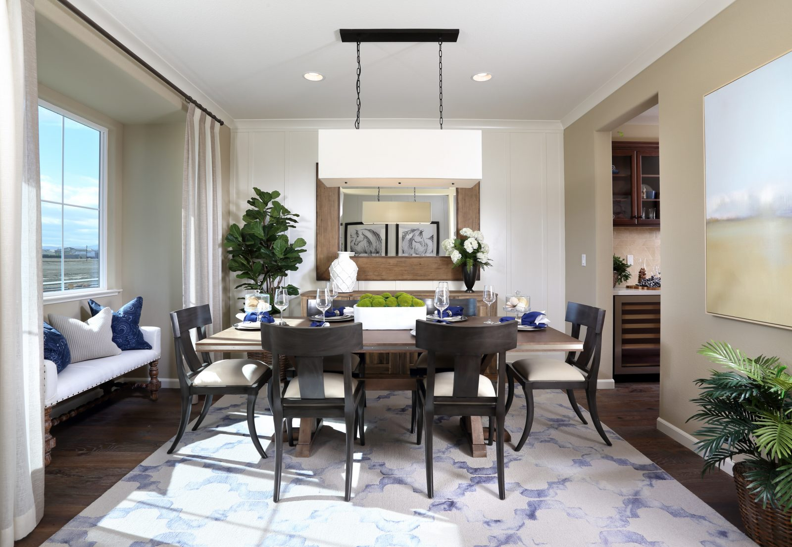 Dining room in new luxury home | Merritt at Emerson Ranch in Oakley, CA | Brookfield Residential