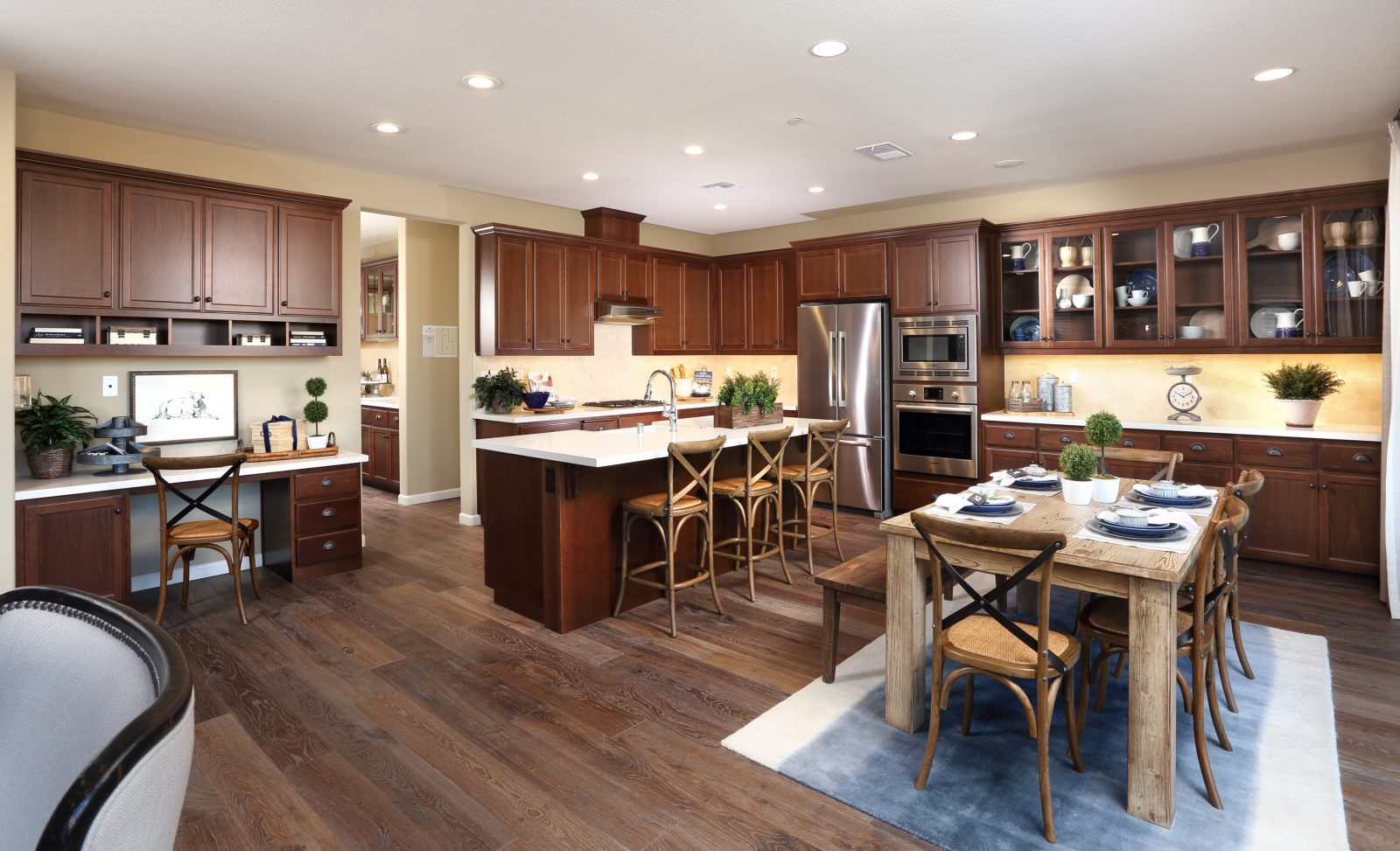 Gourmet kitchen in new luxury home | Merritt at Emerson Ranch in Oakley, CA | Brookfield Residential