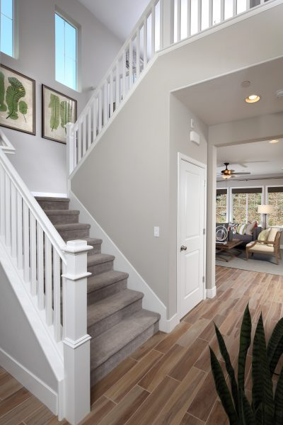 Entry way in new luxury home | Ambrosia at Glen Loma Ranch in Gilroy, CA | Brookfield Residential