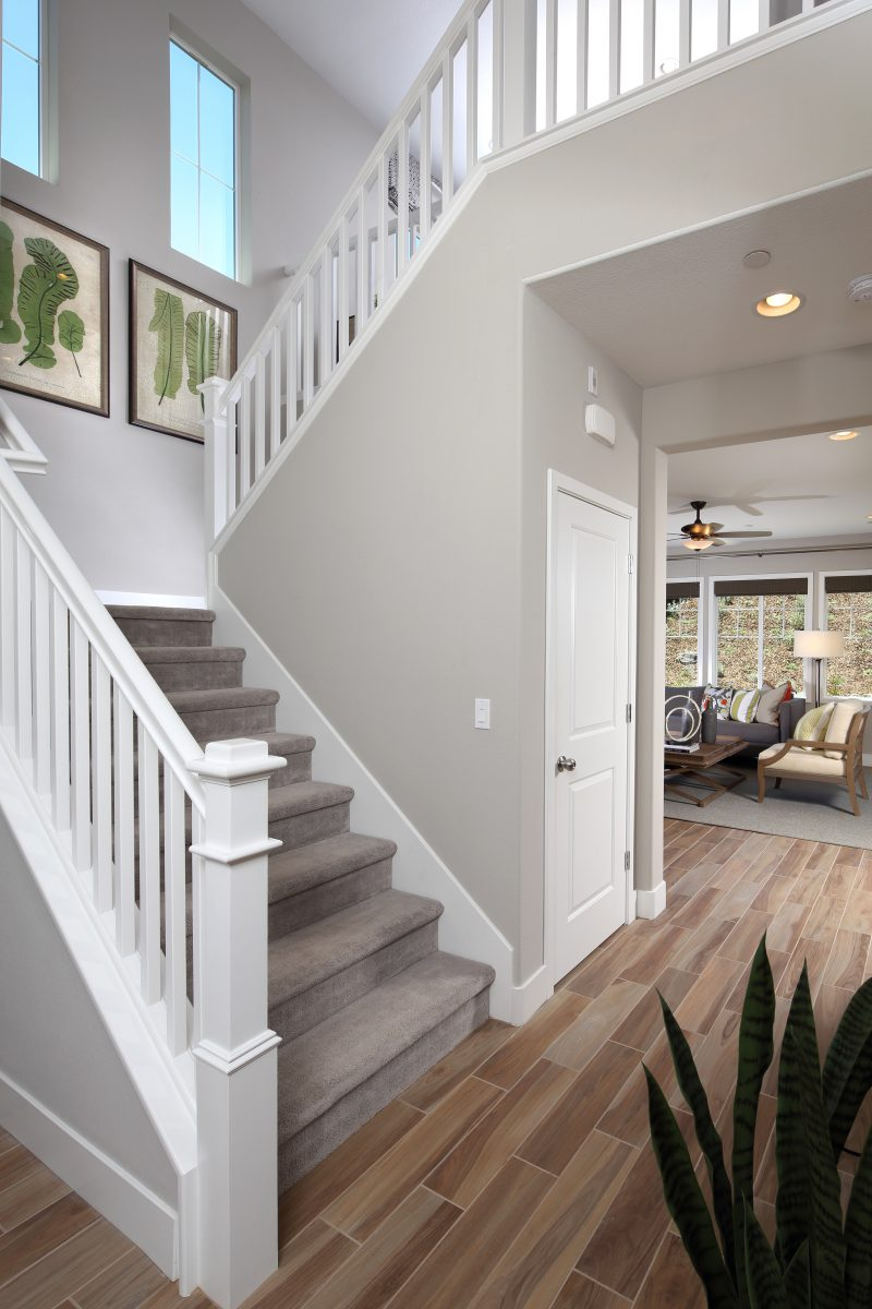Entryway in new luxury home | Ambrosia at Glen Loma Ranch in Gilroy, CA | Brookfield Residential