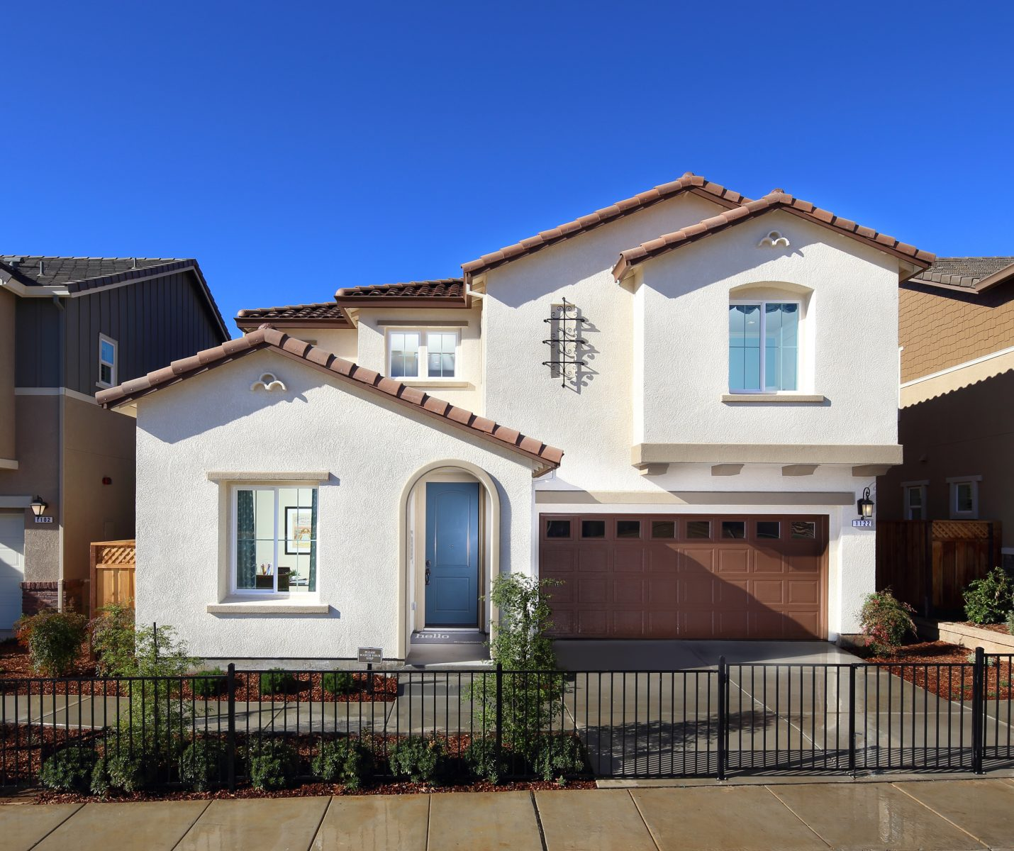 Exterior view of new luxury home | Ambrosia at Glen Loma Ranch in Gilroy, CA | Brookfield Residential