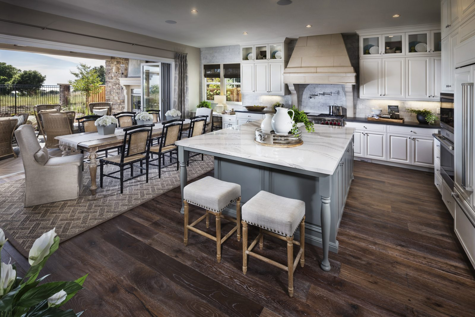 gourmet kitchen in new luxury home crown point at stonebrae in hayward ca - Brookfield Homes Floor Plans