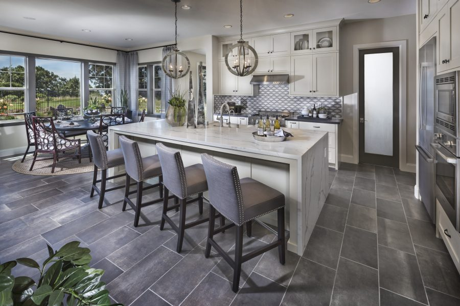 Gourmet kitchen in new luxury home | Crown Point at Stonebrae in Hayward, CA | Brookfield Residential