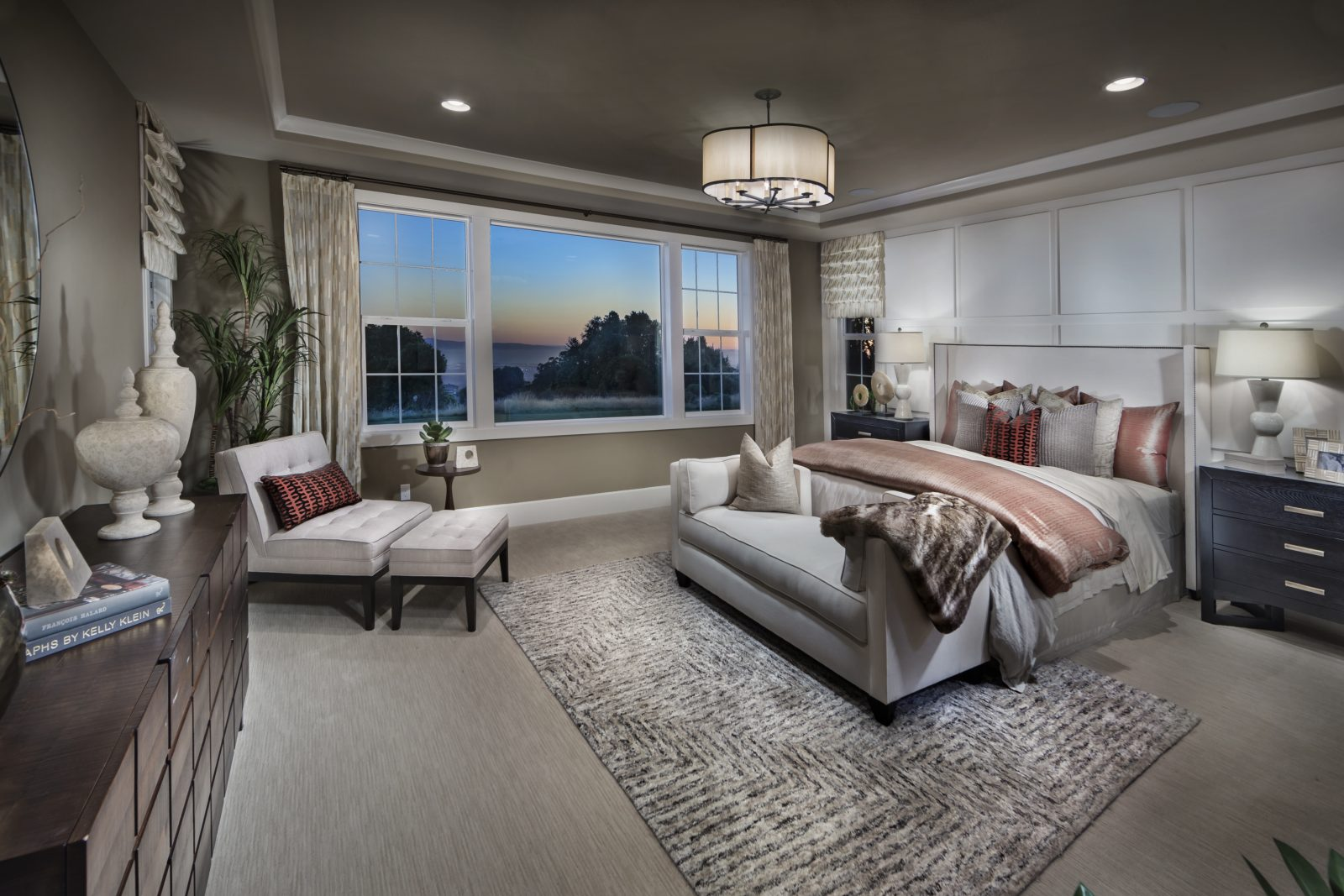 Owner bedroom in new luxury home | Crown Point at Stonebrae in Hayward, CA | Brookfield Residential