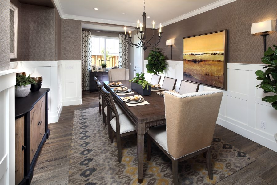 Dining Room | Mataro in Gilroy, CA | Brookfield Residential