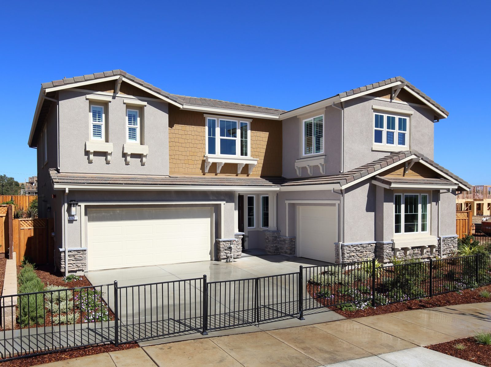 New Home Exterior | Mataro in Gilroy, CA | Brookfield Residential